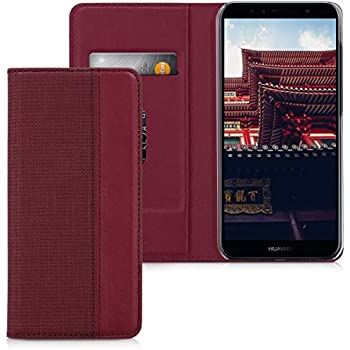 Amazon.com: kwmobile - Funda tipo cartera para Huawei Y6 ...