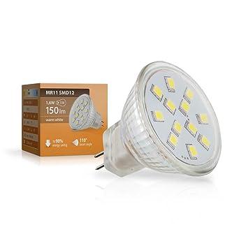 Sebson Led Lampe Gu4 Mr11 2w 1 6w Ersetzt 20w Gluhlampe