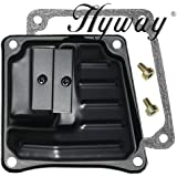 Hyway Stihl 044, 046, MS440, MS460 dual port muffler front cover