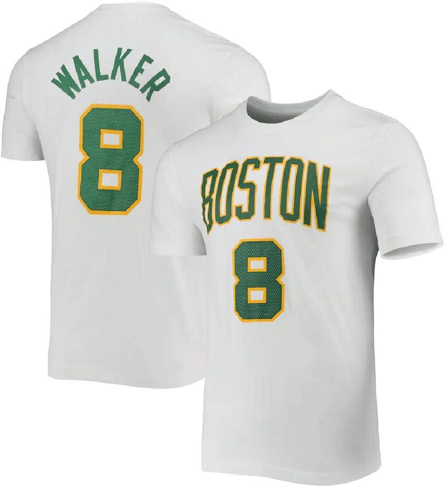 Camiseta YHIU Boston Celtics #8 Kemba Walker Fan Ropa de ...