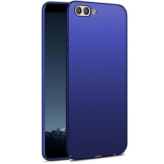 the latest adc49 417df TheGiftKart Ultra Slim 360* Matte Velvet Feel Hard Back Cover for Honor  View 10 (Metallic Blue)