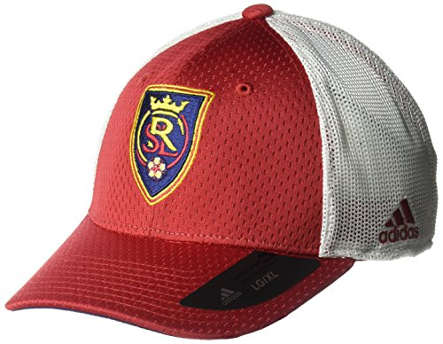 658198b73e9 ... low price adidas mls real salt lake mens meshback structured flex hat  large x large 42998