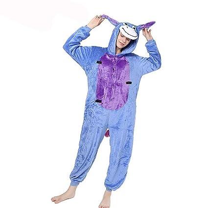 87bfa44365 SHANGXIAN Unisexo Pijama Animal Disfraces Ropa De Dormir Adulto Franela  Dibujos Animados Animal Nuevo Onesies Disfraz