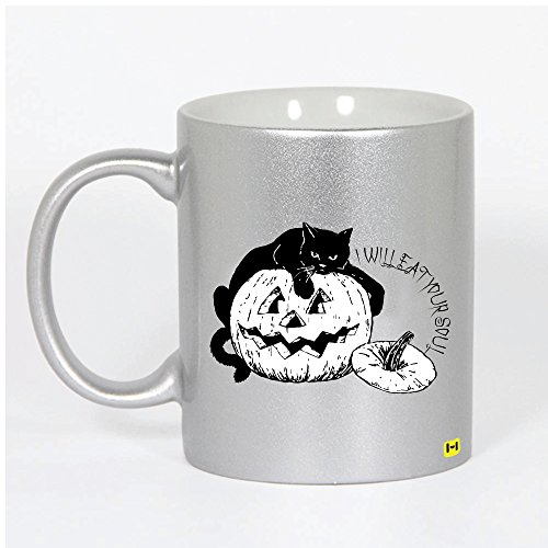 Hamee - Soul Eater Cat - Halloween Theme Silver Coffee (Soul Eater Halloween Theme)