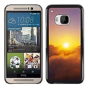 iKiki Tech / Estuche rígido - Sunset Beautiful Nature 28 - HTC One M9