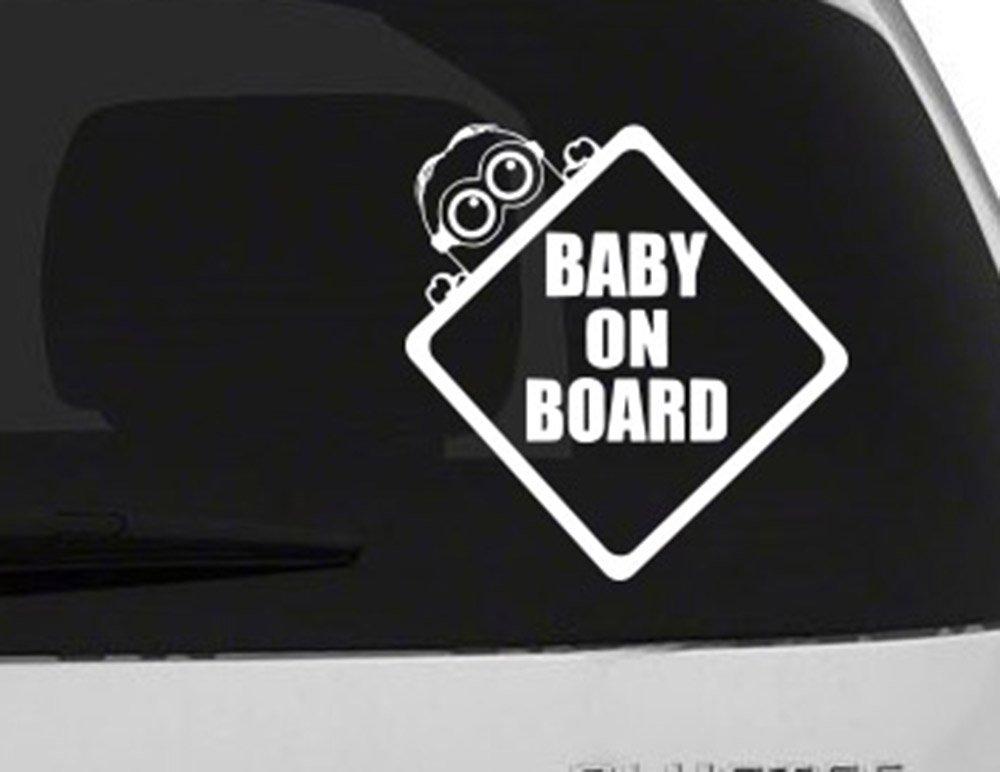 Baby On Board (5) Minion Sticker Image Cut