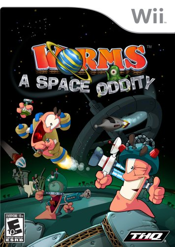 Worms Space Oddity Nintendo Wii product image