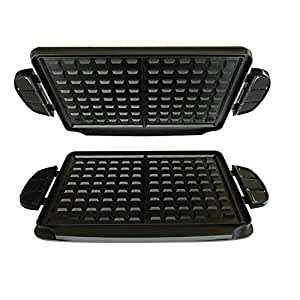 George Foreman Evolve Grill System Waffle Plates, GFP84WP