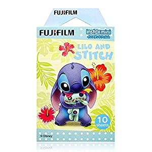 Fujifilm Instax Mini Instant Film (10 sheets, Disney Lilo and Stitch)