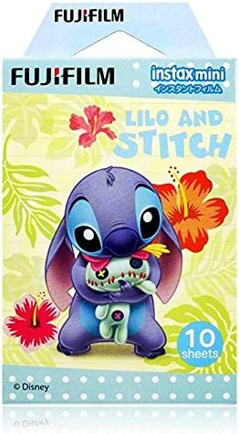 Fujifilm Instax Mini – Película instantánea (10 hojas, Disney Lilo y Stitch): Amazon.es: Electrónica