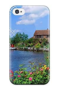 Iphone 4/4s Case Slim [ultra Fit] Hunsett Mill England Protective Case Cover