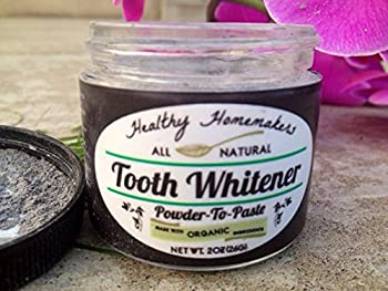 Activated Sparkle Charcoal Tooth Whitening -Reverse Tooth Decay - Remove Plaque - Remineralize, Whiten, Strengthen, NON-sensitizing - 100% Natural & Organic Ingredients No Bleach