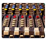 knob fader - Luxlady Mousepad Sound mixing console Audio mixer mixing board fader and knobs photography IMAGE 24670583