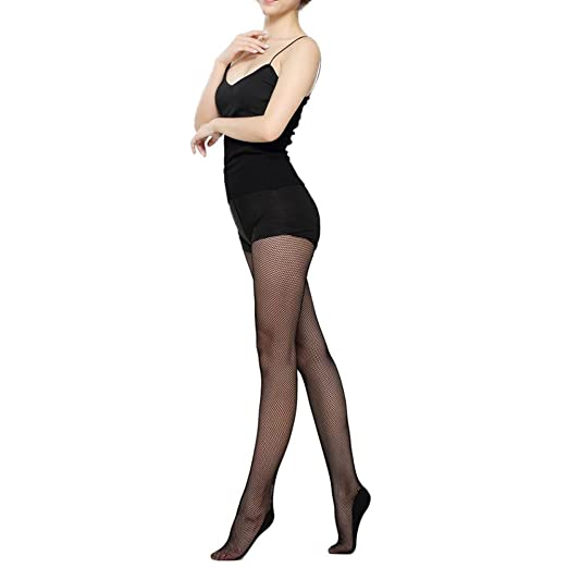 e5ae074158ee0 Image Unavailable. Image not available for. Color: chinatera Women's Sexy  Hard Yarn Elastic Dance Stockings Professional Fishnet Tights