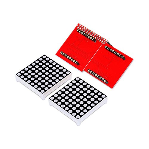 Tolako 8x8 Common-Cathode Dot Matrix LED Matrix Display Module+Driver Board for Raspberry - Sunglasses Electric Nz