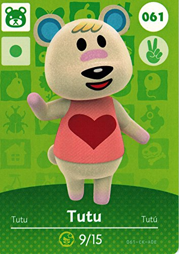 Animal Crossing Happy Home Designer Amiibo Card Tutu ()