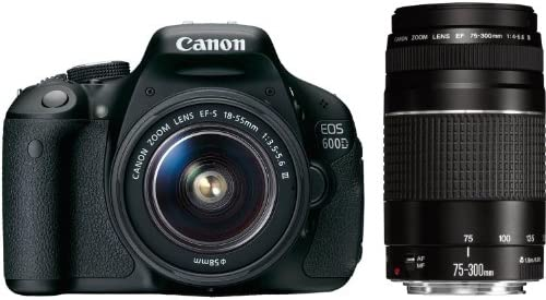 Canon EOS 600d/rebel T3i/EOS Kiss X5 18 – 55/3.5 – 5.6 EF-S IS 75 ...