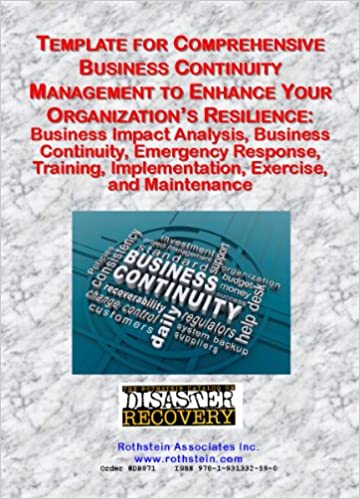 Amazon template for comprehensive business continuity template for comprehensive business continuity management business impact analysis business continuity emergency response training implementation friedricerecipe Gallery