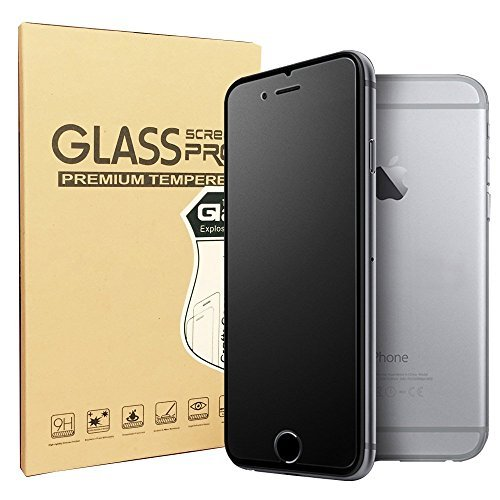(SONTO Compatible Matte Glass Screen Protector for iPhone 6 Plus 6s Plus Tempered Glass/Anti-Fingerprint/ Anti-Glare/Ultra-Thin/Smooth Touch (iPhone6 Plus/6s Plus))
