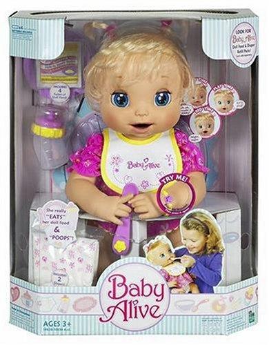 Baby Alive Hasbro Doll Caucasian Buy Online In Uae