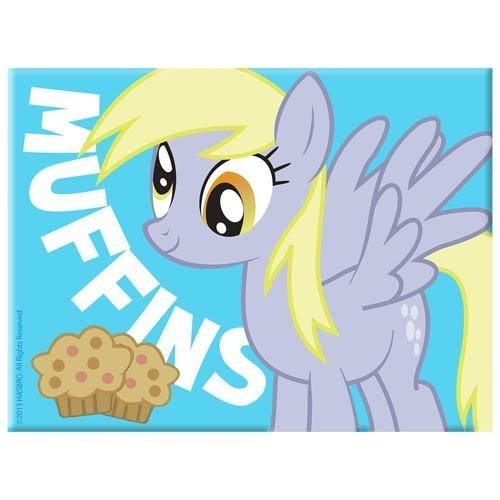 My Little Pony Friendship is Magic Magnet (Derpy Muffins) ()
