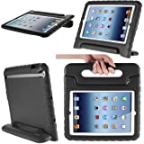 i-Blason ArmorBox Kido Series Case for Apple iPad Mini 3, iPad Mini, iPad mini with Retina Display Light Weight Super Protection Convertible Stand Cover Case (Black)