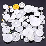 JISTL 75 Type Plastic Crown Gear Single Double Reduction Gear Worm Gear