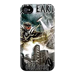 Iphone 4/4s ZQm3878MZsY Customized Fashion Metallica Pictures Shock-Absorbing Hard Phone Cases -Marycase88