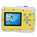 TOP-MAX Digital camera for kids,3M Waterproof Underwater Sport Action Camera Camcorder Cam with 2.0'' LCD Screen,4x Digital Zoom, and 5MP CMOS, Digital Video Camera Record for Sports Swimming Diving