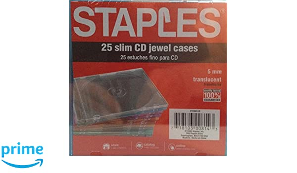 Amazon.com: Slim Jewel Cases 25 Pack: Computers & Accessories