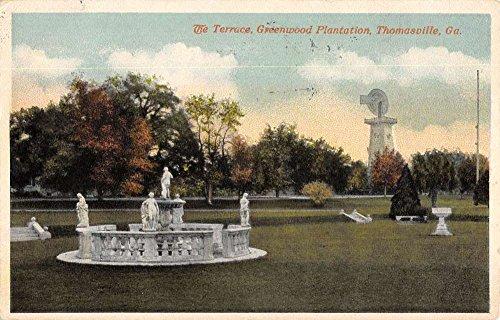 thomasville-georgia-greenwood-plantation-terrace-antique-postcard-k54496