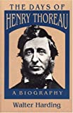 The Days of Henry Thoreau, Walter Harding, 0691065551