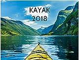 2018 Kayak Wall Calendar
