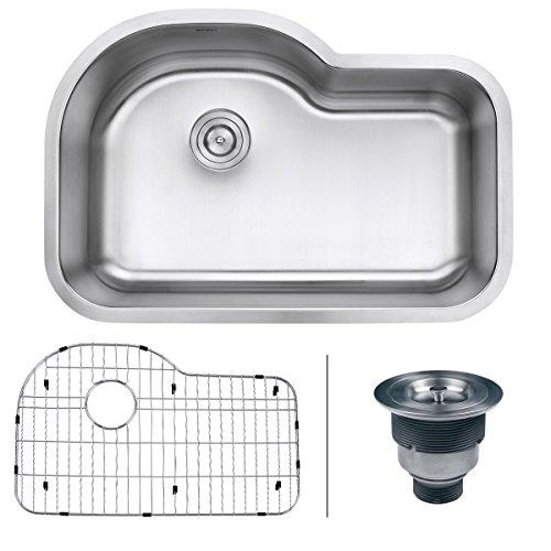 Single Bowl Undermount Stainless Steel Sink - 4