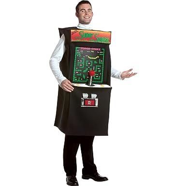 Amazon.com: Super Snake Arcade Game Adult Halloween Costume: Clothing