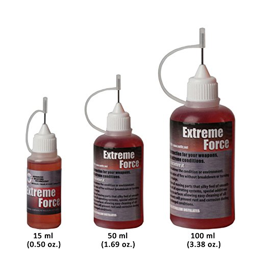 Gun Oil, Firearms & Weapons Oil, Lubricant, Protectant. Extreme Force Weapon's Lube