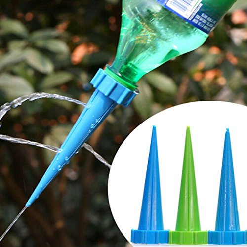 Auto Dripper Rain Bird4pcs Garden Watering Drip Control Flowerpot Automatic Irrigation Kits
