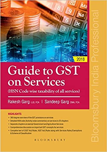Guide to GST on Services (HSN Code wise taxability of all services)