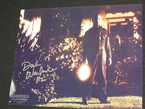 Dick Warlock Signed Michael Myers 8x10 Photo Halloween 2 The Shape C