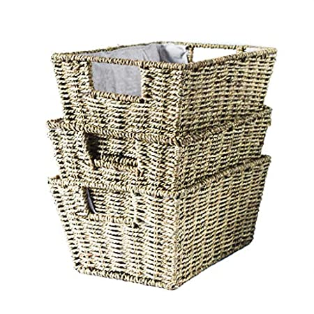 51Y15h7t18L._SS450_ Wicker Baskets and Rattan Baskets