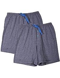 Godsen Women's Jersey Cotton Shorts Sleepwear of 2 Pack