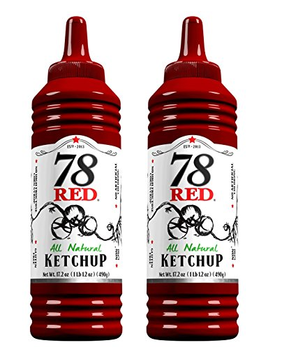 78 Red Ketchup 17.2 oz, 2 Pack