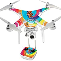 Skin For DJI Phantom 3 Professional – Deadhead | MightySkins Protective, Durable, and Unique Vinyl Decal wrap cover | Easy To Apply, Remove, and Change Styles | Made in the USA