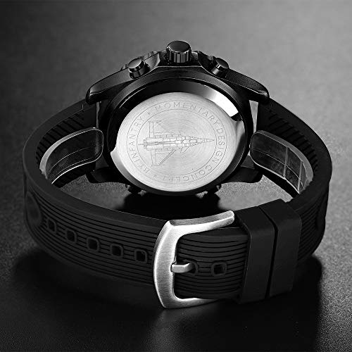 Big Face Military Tactical Watch for Men, Mens Outdoor Sport Wrist Watch, Large Analog Digital Watch - Dual Display… 5