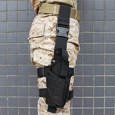 Generic Tactical Cross Draw Shoulder Holster--BLACK