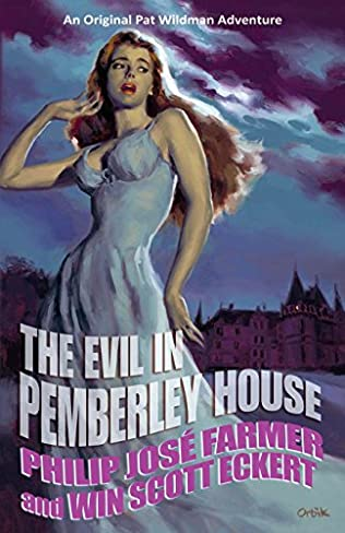 book cover of The Evil in Pemberley House