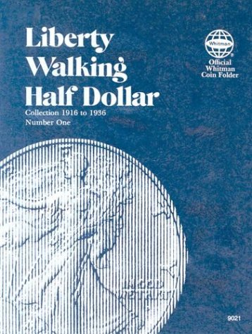 Coin Folders Half Dollars (Liberty Walking, 1916-36)