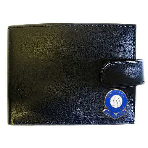 (Football Club Wallets-Bristol Rovers Football Club Genuine Leather Wallet)