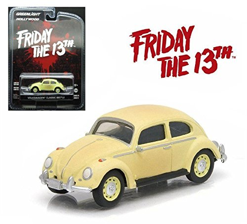 (Greenlight HOLLYWOOD SERIES 9 FRIDAY THE 13TH PART III 1963 VOLKSWAGEN Beetle)