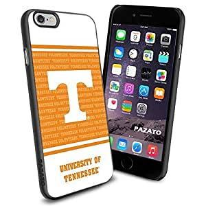 NCAA W THE UNIVERSITY OF TENNESSEE Cool iphone 6 plusd 5.5 Case Collector iPhone TPU Rubber Case Black